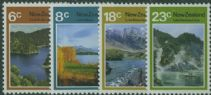 NZ SG993-6 Lake Scenes set of 4